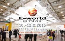 APLUS Enerji E-World 2015'te