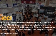 ICCI 2015 Fuarı EPDK Enerji Uzm. Yrd. Mehmet Şimşek Sunumu