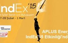 APLUS Enerji IndEx'15 Etkinliği'nde