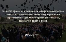 APLUS Enerji Tebrik Mesajı